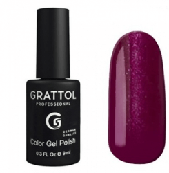 Гель-лак Grattol Color Gel Polish Shining Ruby – №80