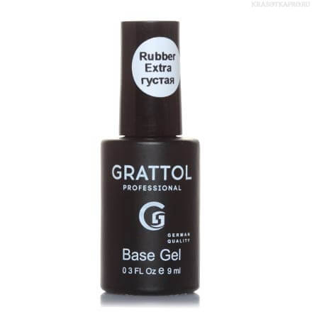 Grattol Rubber Base Gel Extra 9мл