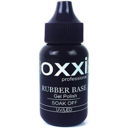 База (каучуковая)  OXXI Professional Rubber Base (new) 30 мл