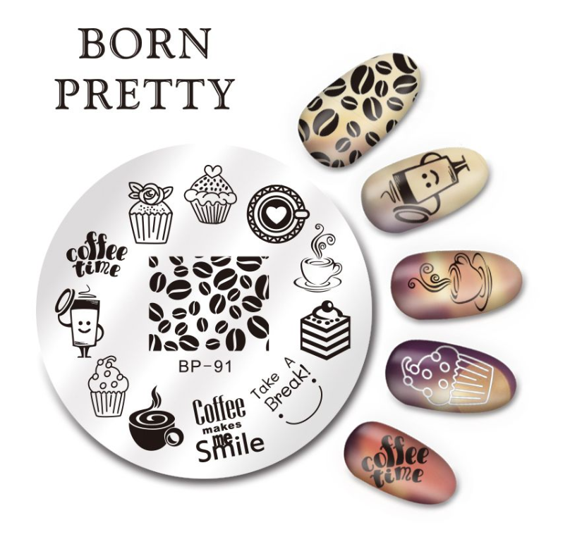 Пластина для стемпинга Born Pretty BP-91