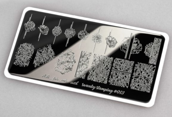 Пластина Arti for you with Swanky Stamping 013