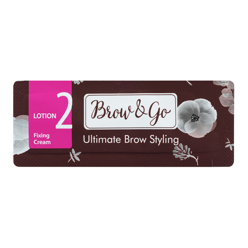 Состав для стайлинга бровей №2 Brow&Go Fixing Cream, саше 1 мл