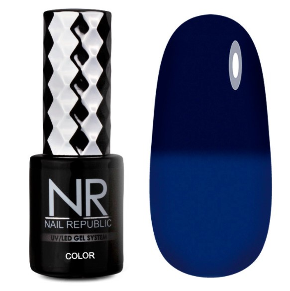 Гель-лак Термо Thermo color 608 Nail Republic 10 мл