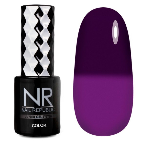 Гель-лак Термо Thermo color 609 Nail Republic 10 мл